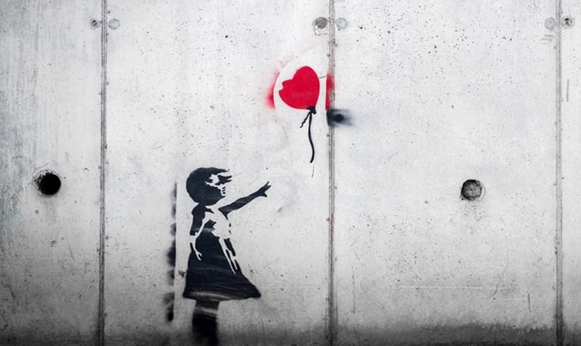 "Wie Banksy ""The Girl and Balloon"" geshreddet hat"