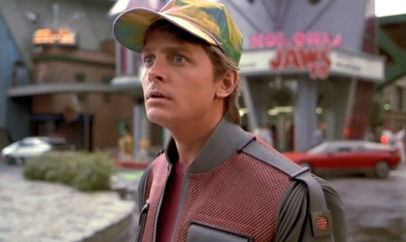 Welcome Marty McFly!