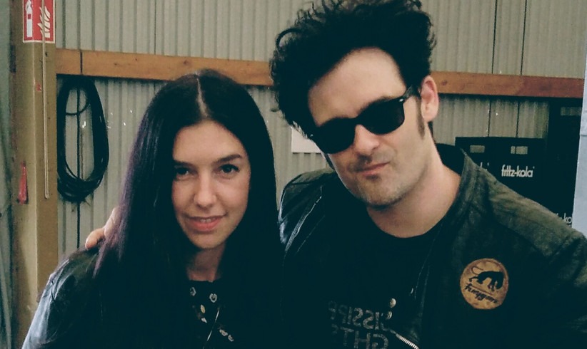 Chelsea Hotel: Black Rebel Motorcycle Club zu Gast bei Sandra