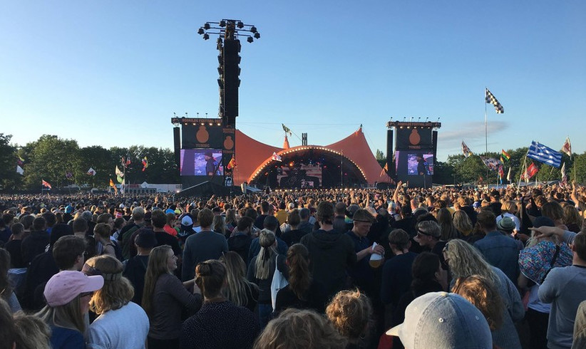 Roskilde 2017 - Orange Stage Sonne