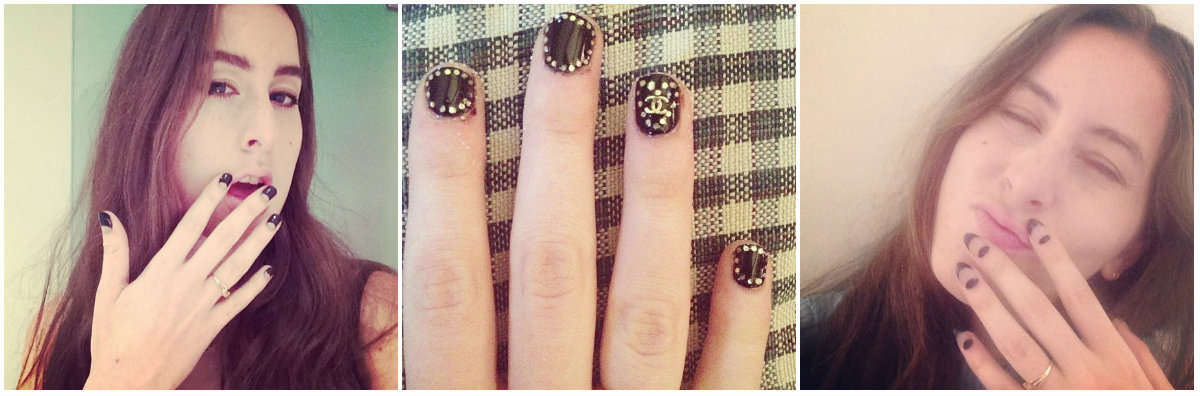 haim nailart collage