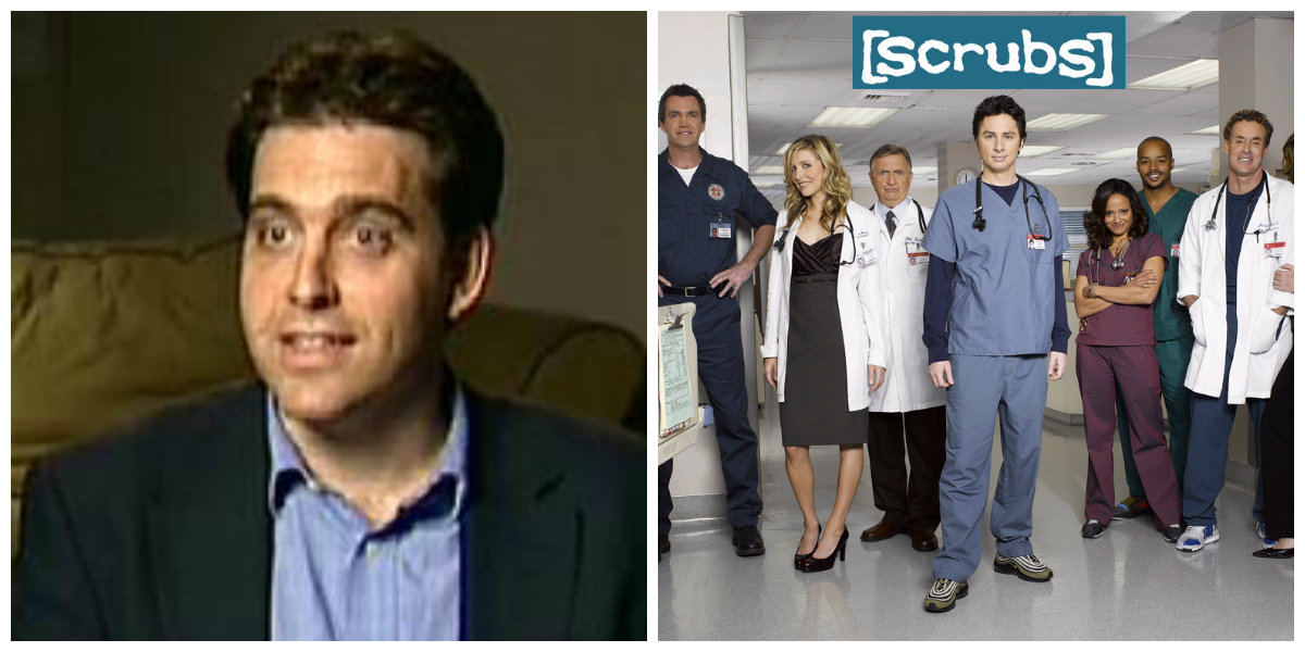 scrubs collage
