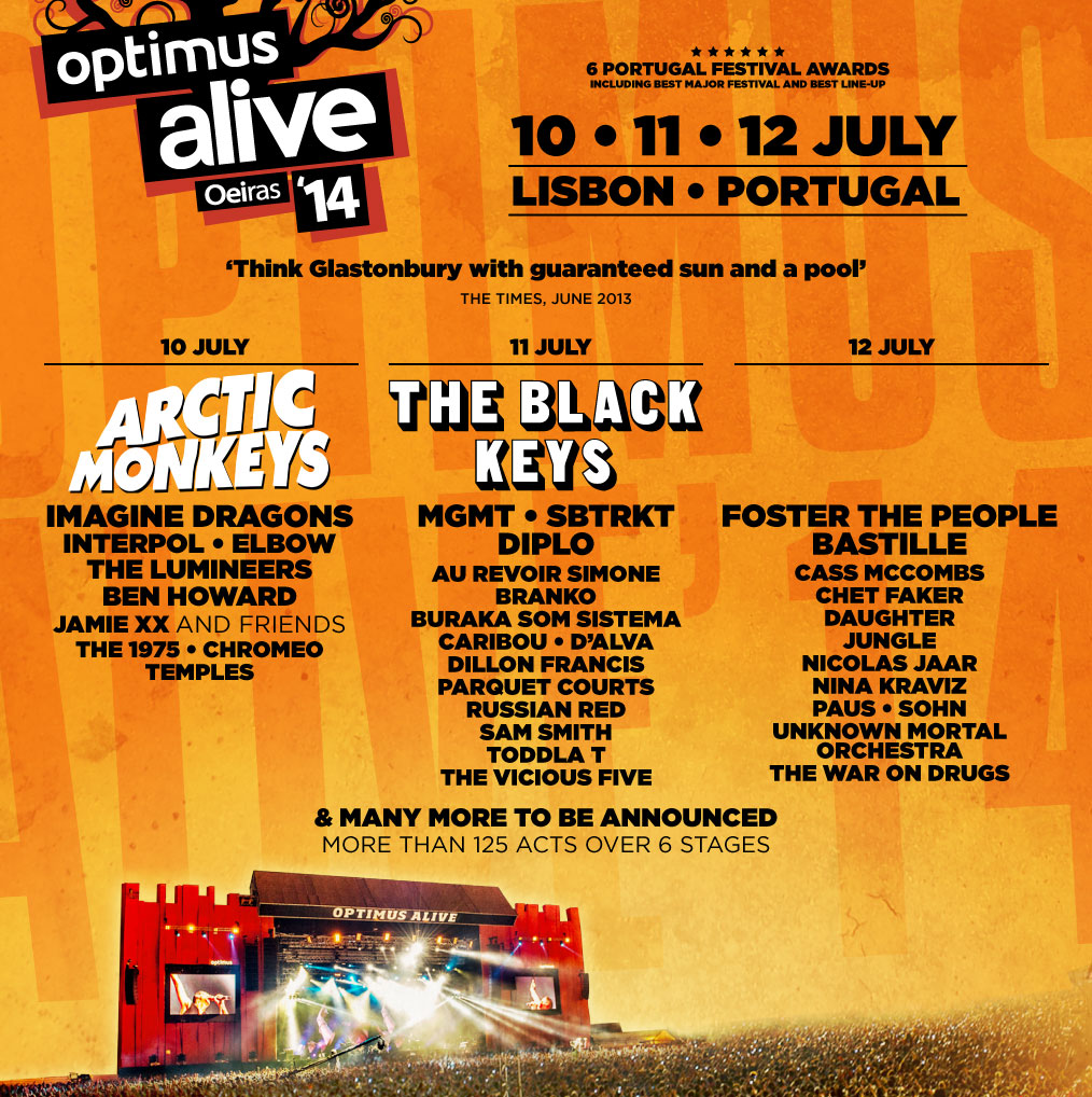 optimusalive lineup