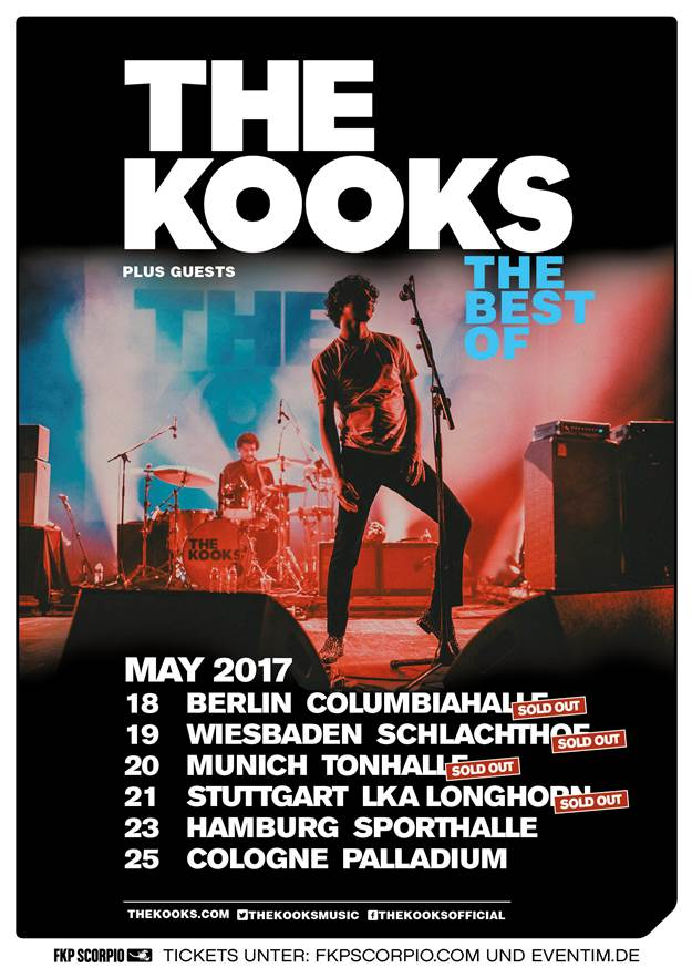 Kooks sold out press